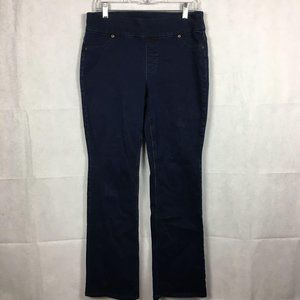 CHICOS Perfect Stretch Boot Cut Jeans Sz 6 0.5